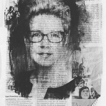 Petra Lukaschewski auf Zeitung von Johannes Wobus